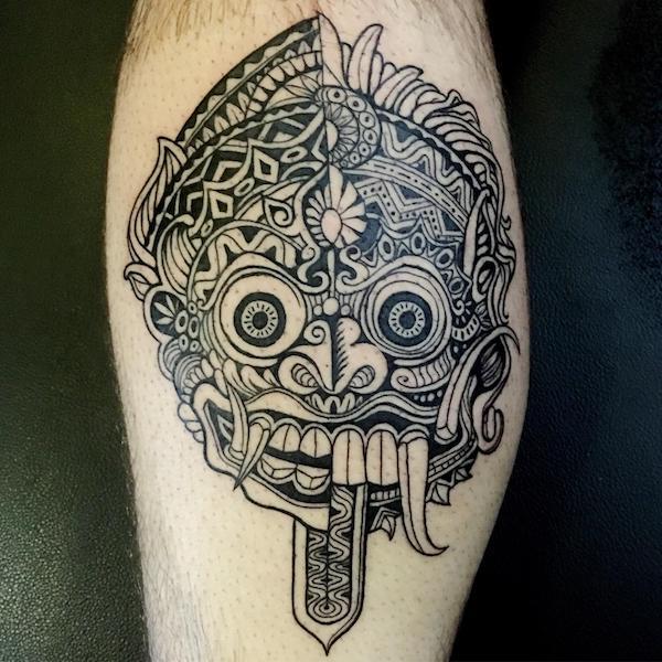 barong tattoo bali